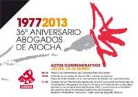 36 aniversario Atocha