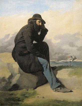 """""""El Exilio"""" de Antonio Ciseri. 1870. Museo Civico do Belli Arti, Lugano."""