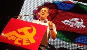 José Luis Centella en la Fiesta del PCE 2013
