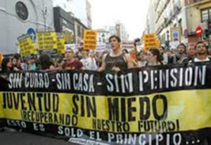 manifestación jovenes