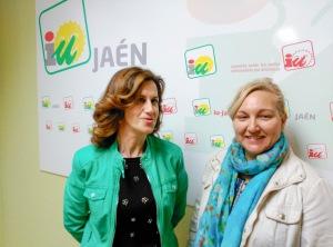 Foto Juana de Dios Peragón y Marisol Gutiérrez