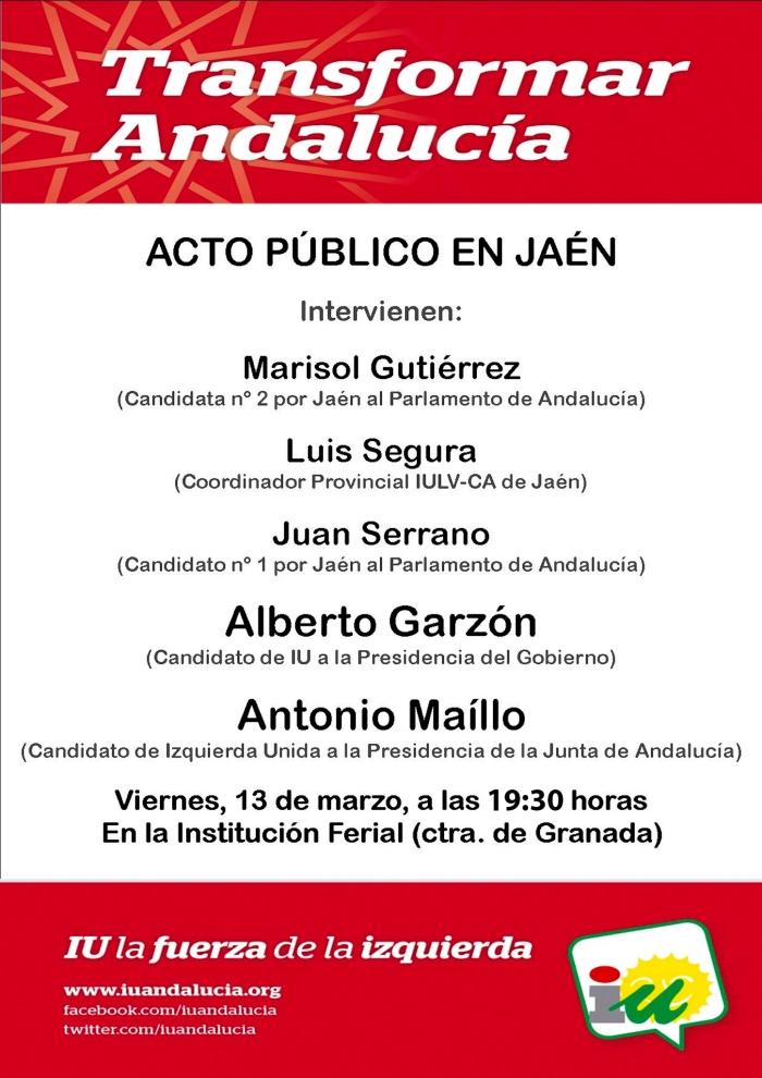 Octavilla ActoCentral Jaén